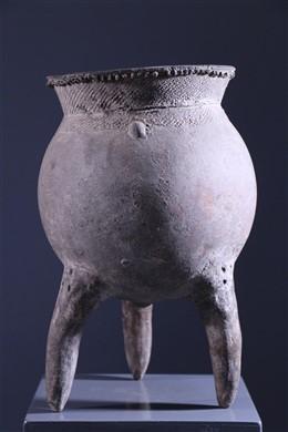 Tribal art - Matakam Jar